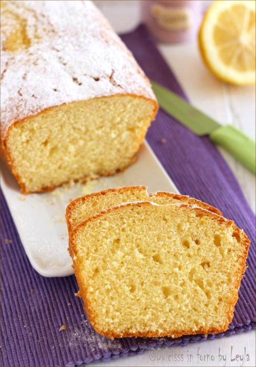 Plumcake al limone senza burro: plumcake semplice e leggero