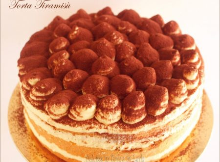 Torta Tiramisù con crema al mascarpone di Luca Montersino e uova pastorizzate