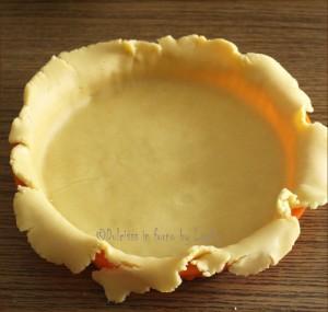 Crostata perfetta: come trasferire la pasta frolla nello stampo da crostata Dulcisss in forno by Leyla