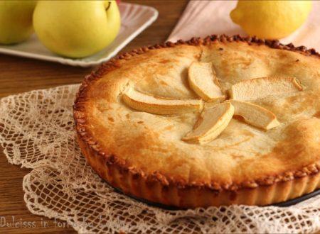 Crostata ripiena di mele o crostata Cuor di mela