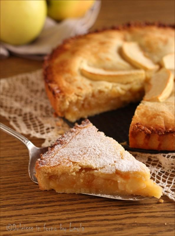 Crostata di mele coperta la crostata cuor di mela che si for Pasta frolla planetaria