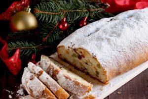 Stollen di Natale o Christmas Stollen, dolce natalizio