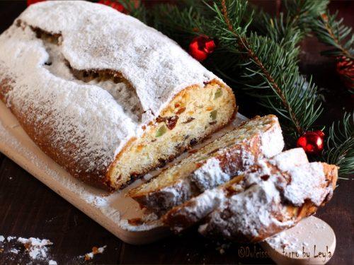 Stollen o Christstollen, ricetta originale dolce natalizio tedesco