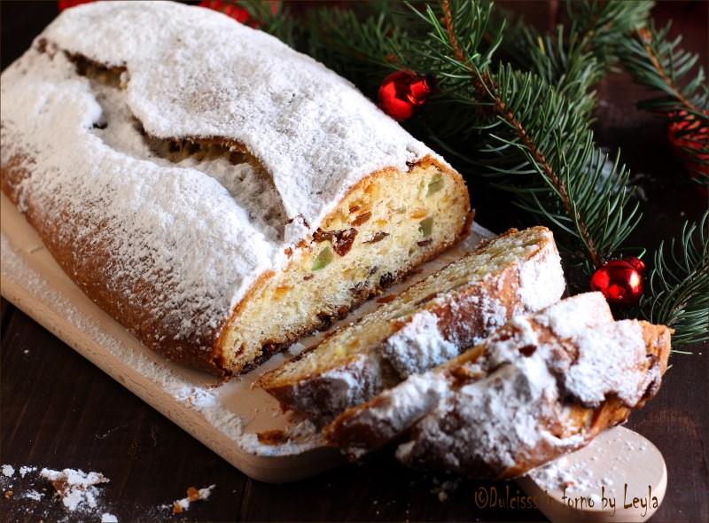 stollen di natale weihnachtsstollen christmas stollen marzipan stollen ricette di natale dulcisss in forno by Leyla ricette Leyla