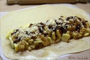 Strudel viennese di mele con pasta tirata homemade Dulcisss in forno by Leyla