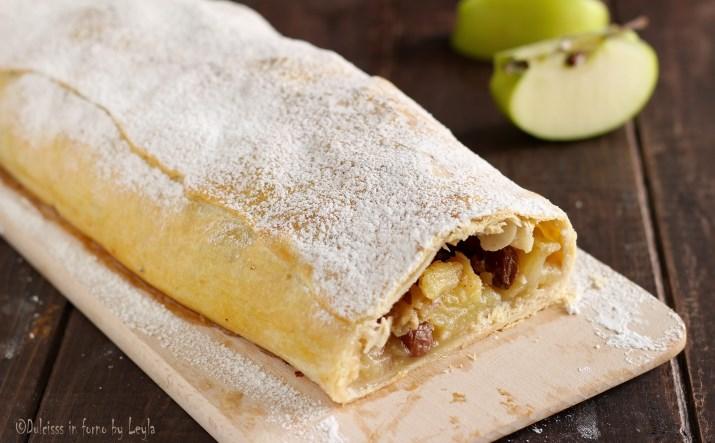 Strudel di mele austriaco o viennese: ricetta dello strudel di mele originale