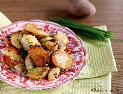 Patate arrostite tirolesi saltate in padella: le Bratkartoffeln