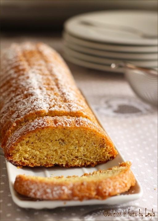 Torta Amor Polenta: torta con farina di mais e mandorle