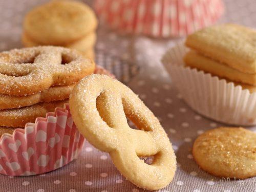 Biscotti danesi al burro: i famosi Danish Butter Cookies