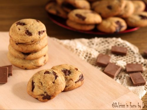 Cookies americani: la versione croccante con cioccolato