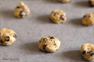 Cookies originali con cioccolato: i Chocolate Chip Cookies Dulcisss in forno by Leyla