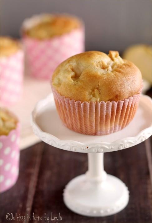 Tortini di mela - Dolcetti alle mele morbidi senza burro - Muffin alle mele senza burro