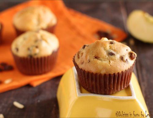 Muffin con le mele: ricetta con uvetta e cannella