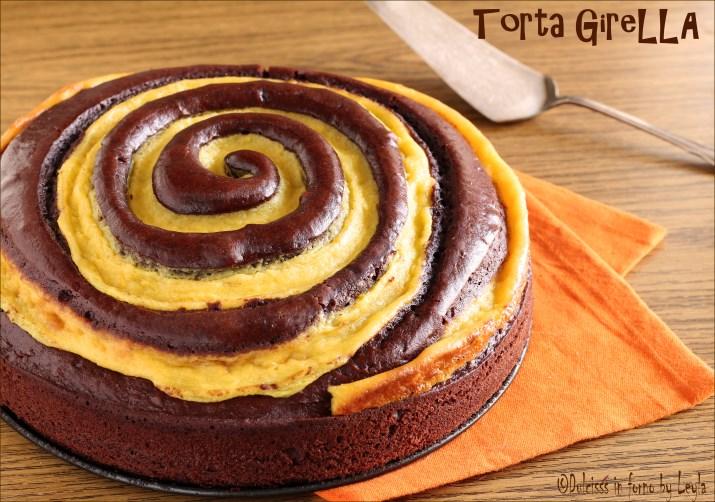 Torta Girella Al Cioccolato E Crema Pasticcera Scenografica E Golosa