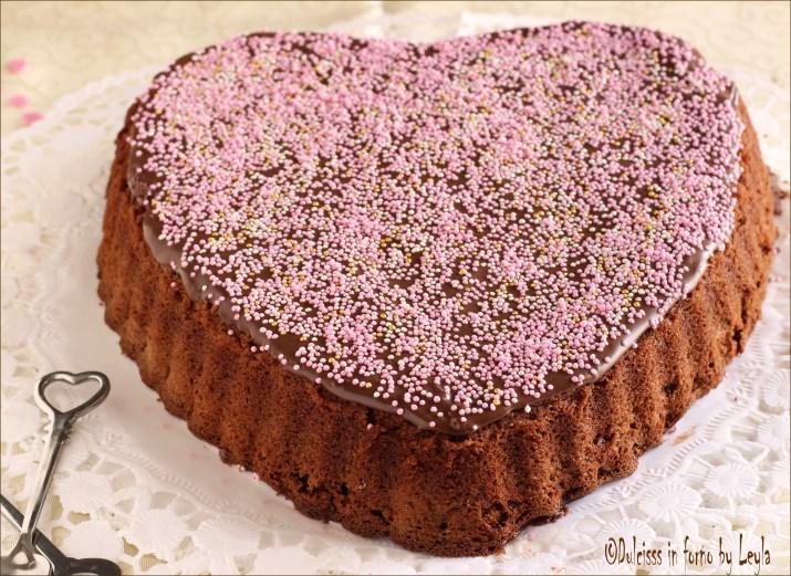 Popolare Cuore di Nutella e cioccolato | Dulcisss in forno | VZ33