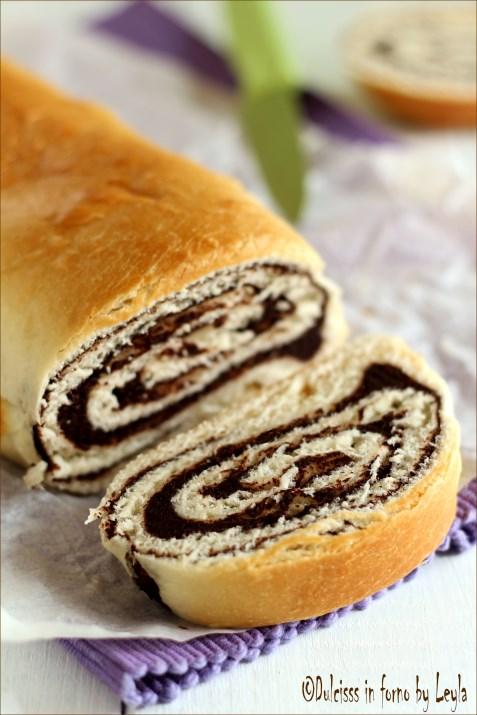 Pane dolce al cioccolato – Chocolate Swirl Bread Dulcisss in forno by Leyla
