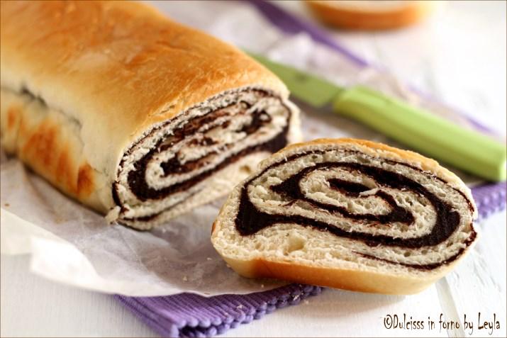 pane dolce al cioccolato chocolate swirl bread. Black Bedroom Furniture Sets. Home Design Ideas