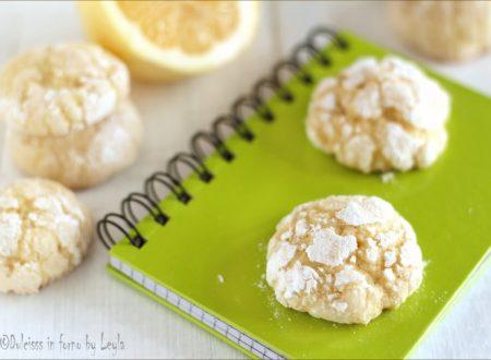 Biscotti morbidi al limone, da non perdere !!