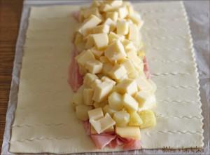 Strudel di asparagi con prosciutto e formaggio Dulcisss in forno by Leyla