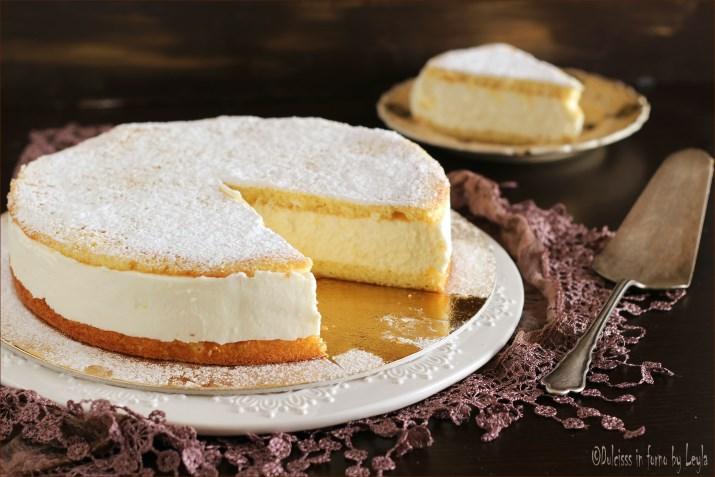 Torta alla crema di ricotta e panna la kaesesahnetorte - Differenza panna da cucina e panna fresca ...
