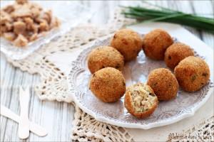 Polpettine di tonno e philadelphia Dulcisss in forno by Leyla