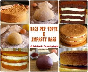Basi per torte e impasti base