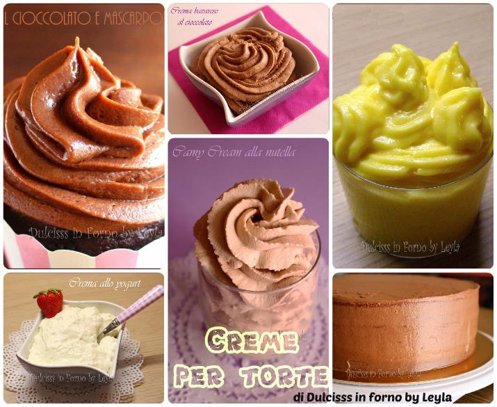 Cake Design Ricette Torte : Ricette creme per torte, raccolta di Dulcisss in forno