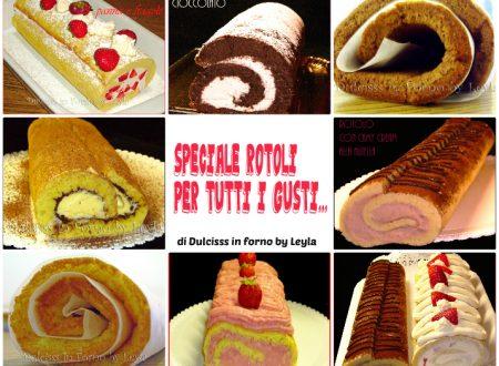 Ricette rotoli dolci, raccolta ricette di Dulcisss in forno