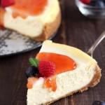 New York Cheesecake cotta in forno Dulcisss in forno by Leyla