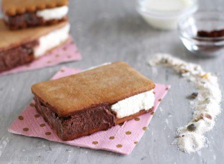 Biscotto gelato bigusto tipo Cucciolone o Duetto