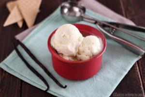 Gelato alla vaniglia veloce senza gelatiera di Martha Stewart