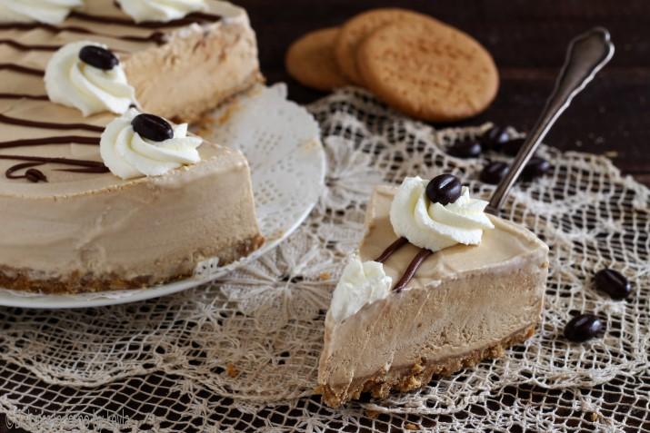 Torta gelato al caffè veloce Dulcisss in forno by Leyla