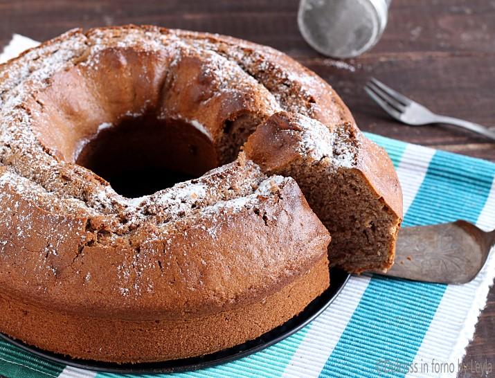 Ciambellone al mascarpone e nutella Dulcisss in forno by Leyla
