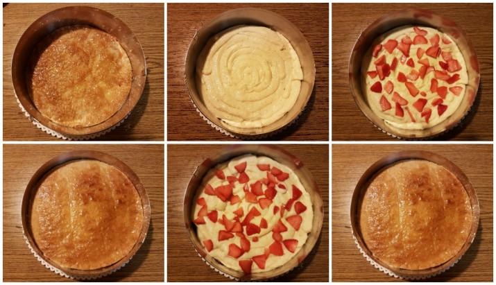 Torta Millefoglie alla crema e fragole Dulcisss in forno by Leyla