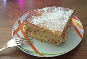 Torta Millefoglie alla crema Dulcisss in forno by Leyla