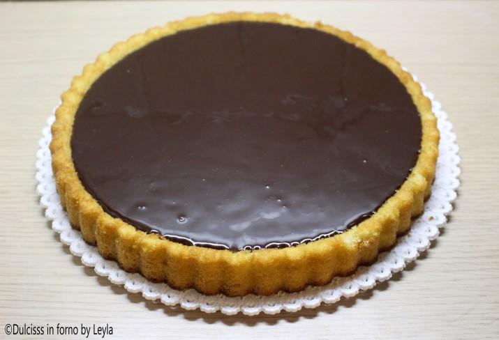 Crostata morbida con cioccolato e kiwi dulcisss in forno - Forno ventilato per torte ...