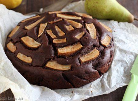Torta pere e cioccolato morbida