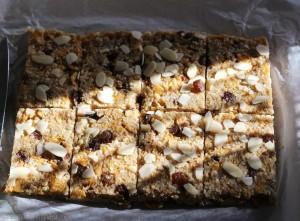 Barrette ai cereali e mele Dulcisss in forno by Leyla