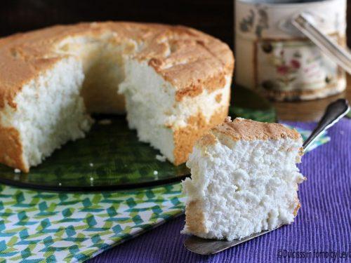 Angel Cake o Ciambellone americano alto senza burro