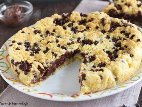 Torta sbriciolata alla nutella, ricetta semplicissima