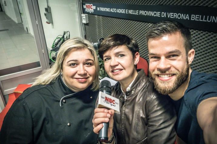 Show Cooking Fiera dell'Arredo con Dulcisss in forno by Leyla Stefano Cavada Leyla Farella Beyound South Tyrol Rete NBC Rete Regione