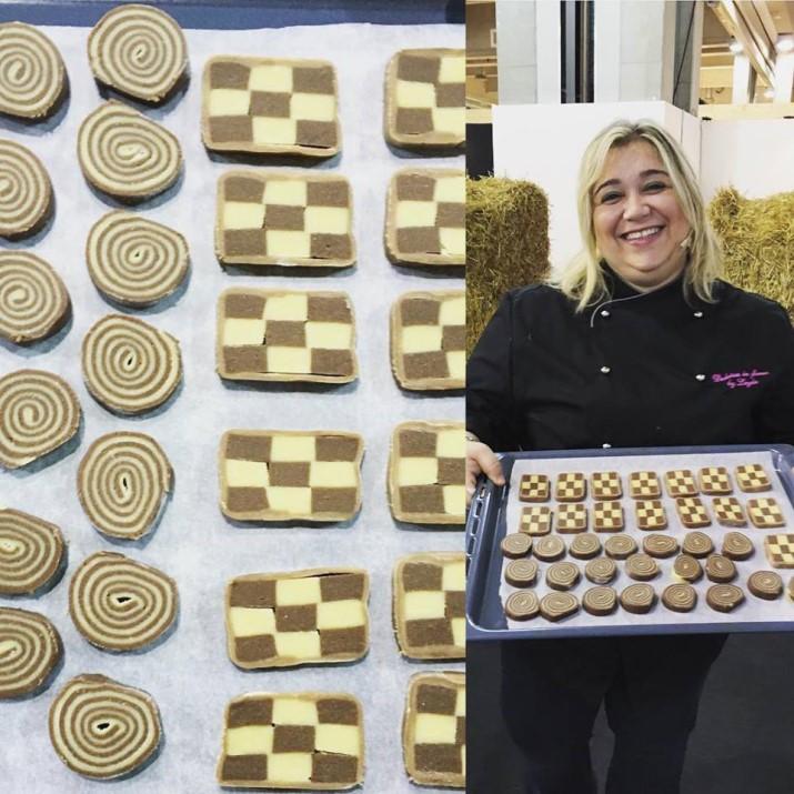 Show Cooking Fiera dell'Arredo con Dulcisss in forno by Leyla
