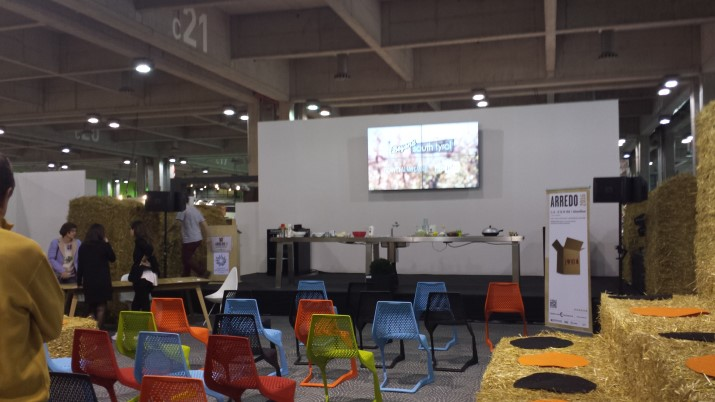 Show cooking fiera dell 39 arredo con dulcisss in forno for Fiera dell arredamento