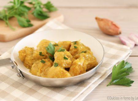Petto di pollo al curry ricetta senza yogurt e senza panna