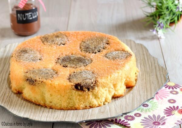 Torta morbida alla nutella semplice e veloce Dulcisss in forno by Leyla