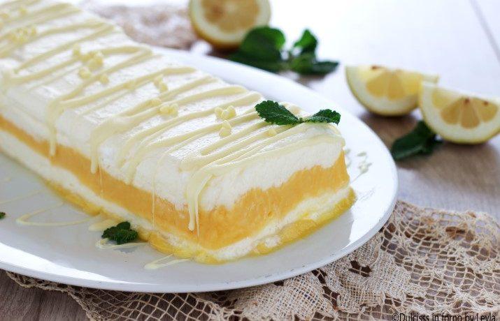 Semifreddo al limone e panna morbido e cremoso