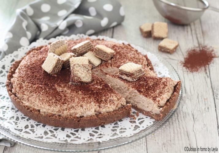 Torta con Wafer e Panna Senza Cottura e Senza Forno