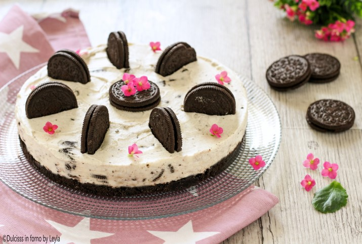 Torta Oreo fredda ricetta senza cottura e senza forno