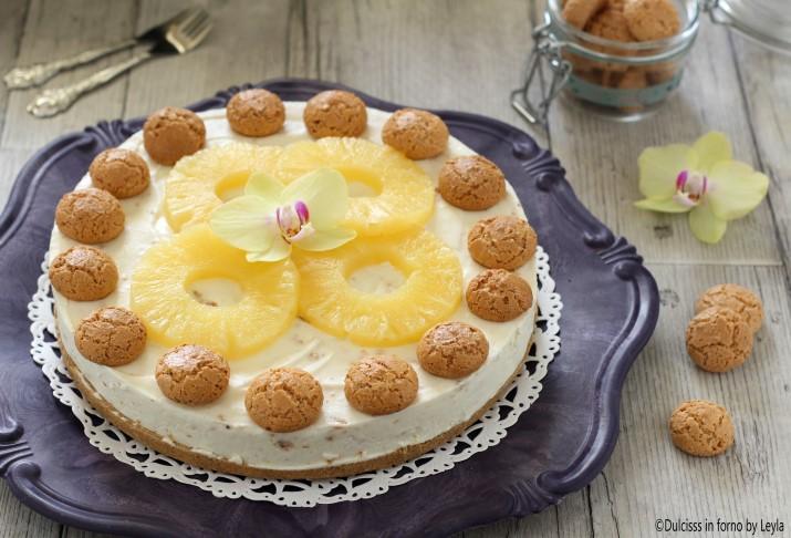 Ricetta torta con amaretti sbriciolati