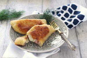Calzoncini prosciutto e formaggio fatti in casa